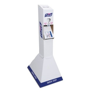 Gojo #2156-02-QFS - PURELL QUICK FLOOR STAND KIT, TOUCH FREE,  W/ 2 1,000ML INSTANT SANITIZER REFILLS, EACH