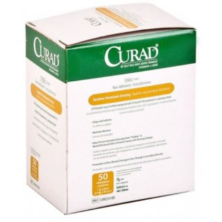 Medline #CUR253180 - DRESSING, GAUZE, XEROFORM, CURAD, 1