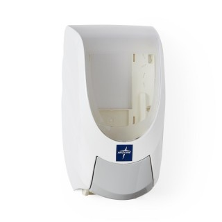 Medline # MANDISPW - Manual Hand Sanitizer Dispenser: Manual Dispenser for Spectrum Hand Sanitizer, White 6/case