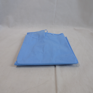 Crown #B1117100901 - Level-2 Equivalent, Isolation Gown, ISO EN13795 Certified, Blue, 100 Per/Cs