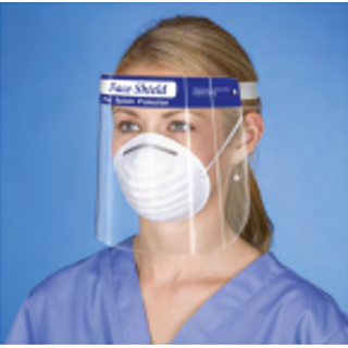 NDC #CESS-99940-00 - Face Shield, FDA Class 1 PPE Medical Device, Anti-Fog, Individually Wrapped, 200 Per/Cs