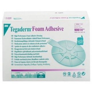 3M #90614 - DRESSING, FOAM, TEGADERM, OVAL, 2.75