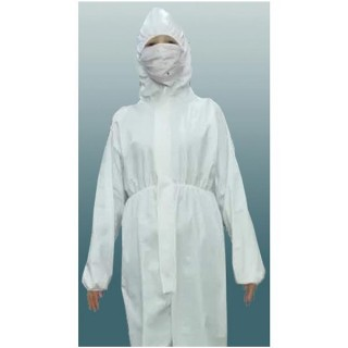 Z Lab Limited #ALB-138-1315 - COVERALL, AAMI LEVEL-2, CUFFED, W/O SHOE COVERS, XL, 48 PER/CS