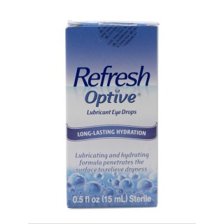 Allergan #0023-3240-15 - REFRESH OPTIV LUBE EYE DRP .5 OZ, EACH