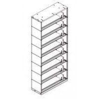 Datum Filing Systems #SO48LT8-25BLK