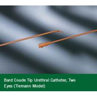 C.R. Bard #120616 - Catheter Ureth Red Rubbr Coude 16Fr 12/CS