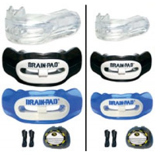 Brain Pad Inc #LPPY-05BLK - LOPRO+PLUS MOUTHGRD YOUTH