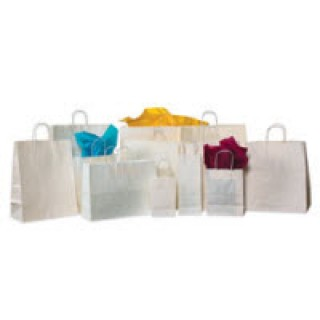 BOX Packaging #310368 - Bags Paper Shopping White 250/PK