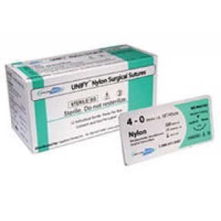 Applied Dental #S-N418R13 - Suture Nylon Violet P-3 Unify 4-0 18