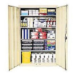 Sandusky Cabinets #454276   Cabinet Storage Sandusky Steel 4 Shelf 72x46x24