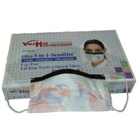 3-in-1 Shield Earloop Mask Multi 25/BX