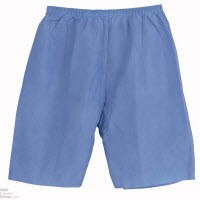 Exam Shorts LF Non Woven XL Navy Blue 50/CS