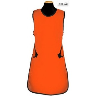 Bar-Ray Products #60008S-49 - Apron X-Ray Vari-Weight Cost Cruncher Small Orange Ea