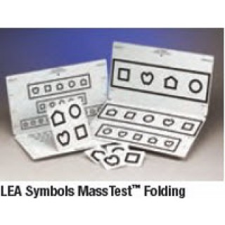 Good-Lite Part #258800 - LEA Symbol MASS Chart Folding 10' Ea