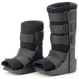 Darco International #FX2 - Walker Brace Fx Pro Foot Paded Black Med Hi Ea