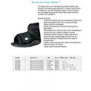 Darco International #SLO1NP - +CAST BOOT SLIMLINE PEDI/SM NAVY 1/EA 12/BX 36/CA