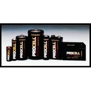 Duracell USA #PC1300 - Battery Procell Alkaline Size D 12/Bx, 6 BX/CA