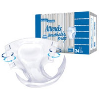 Attends Healthcare Products #BR40 - ATTENDS BRIEF BREATHABLE XLARGE 20/PK 3PK/CA