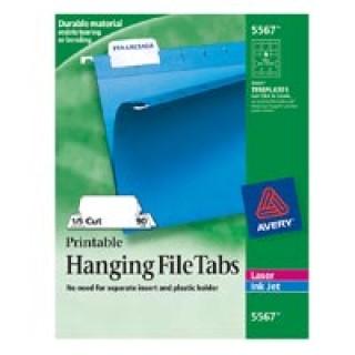 AVERY Part #477408 - Hanging File Folder Labels 3x1 25 90/Pk