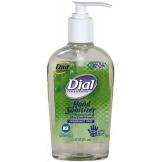 Dial #2340001585 - HAND SANITIZER 67% ETHYL ALCOHOL W/MOISTURIZER DIAL PUMP 7.5 12/CA