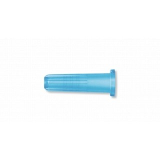 BD #305819 - Cap LL Tip Shelf Pack Blue 200/Bx, 10 BX/CA