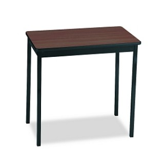 Barricks Manufacturing Co #UT183030-WA - TABLE, UTILITY, 18X30, WAL / BK, EACH