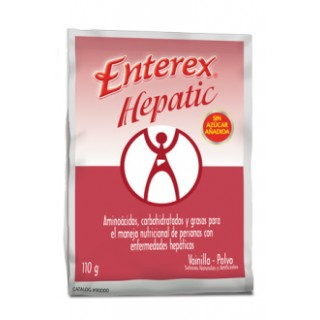 Enterex #91111 - Enterex Hepatic, Vanilla, 110g sachets (24/CS)