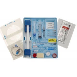 Teleflex #AK-12703 - Arrow-Howes Multi-Lumen Central Venous Catheterization Kit with Blue FlexTip Catheter, 5/CS