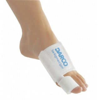 Darco International #TAS - Splint Ortho Darco Toe Elastic White Unsz Ea