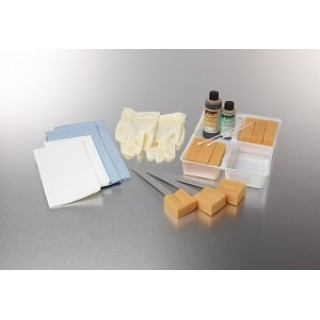 Medline #DYND70372 - TRAY, SKIN SCRUB, WET, STANDARD, 20/CS