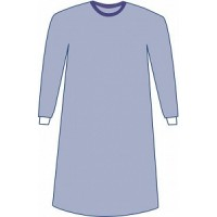 Sterile Non-Reinforced Sirus Surgical Gowns with Set-In Sleeves, Large (43, 109 cm), 20 EA/CS