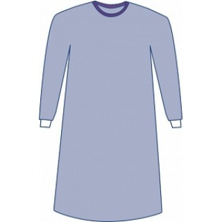 Medline #DYNJP2701 - Sterile Non-Reinforced Aurora Surgical Gowns with Set-In Sleeves, Large (43, 109 cm), 30 EA/CS