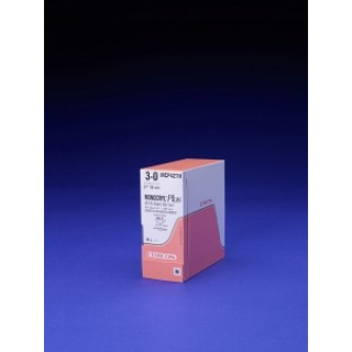 Ethicon #MCP415H - 4-0 27in MONOCRYL Plus UND MONO SA SH, 36/BX