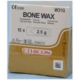 Ethicon #W31G - Bone Wax 2.5gm 12/BX