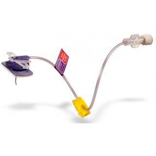 C.R. Bard #SHW19-150 - PowerLoc EZ Power-Injectable Infusion Set without Y-injection site, 19 Gauge x 1.5
