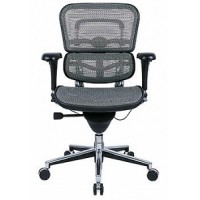 Eurotech Seating #ME8ERGLO/BLACK MESH