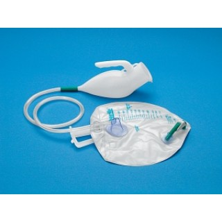 Med-Assist Technology #008 - URINAL, MALE, ADVANTAGE, W/COMF RING, EACH