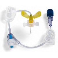 MiniLoc Safety Infusion Set with Y-Injection Site, 22 Gauge x .75