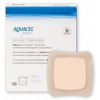 DRESSING, AQUACEL AG FOAM, SACRAL, 9.4X8.4, 5/BX