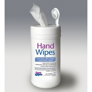 2Xl # 2XL470 - WIPES, SANI, HAND, CARE, NO ALCOHOL, 6X70CT, 6/CS