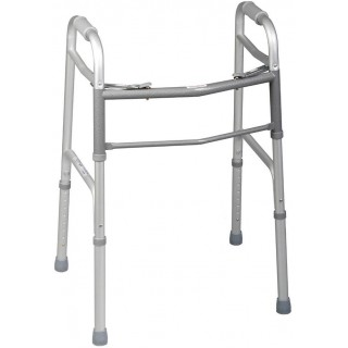 Medline #MDS86410J4 - WALKER, 2 BUTTON, FOLDING, ADJ, 1IN, JUNIOR, 4 EA/CS