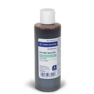 Medline #MDS093944 - Povidone Iodine Prep Solutions, 4-fl. oz. (118 mL), 48 EA/CS