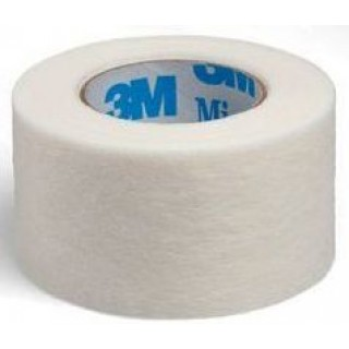 3M 1530-1 - 3M Micropore Surgical Tape 2.5 cm x 9,1 m Adhesive Paper, Hypoallergenic  Tape, Standard roll, White, 12/BX, 10 BX/CA - CIA Medical